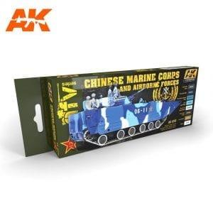 AK4250 acrylic paint set akinteractive modeling