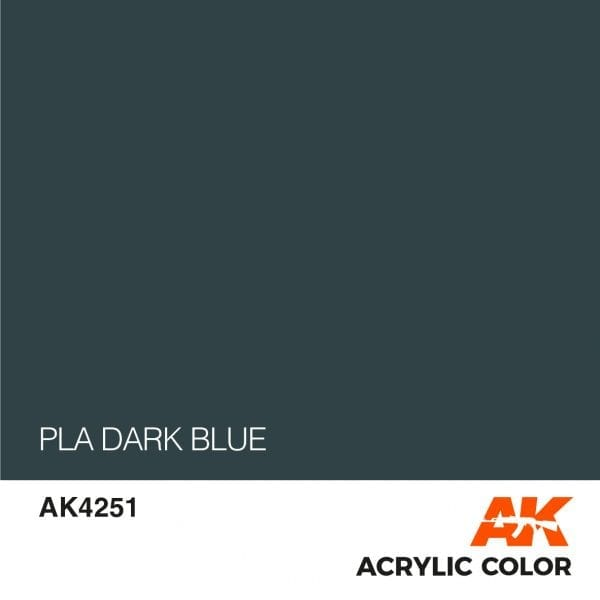 AK4251 PLA DARK BLUE