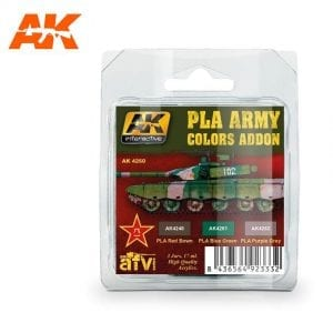 AK4260 acrylic paint set akinteractive modeling