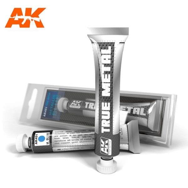 AK451 true metal paint akinteractive modeling
