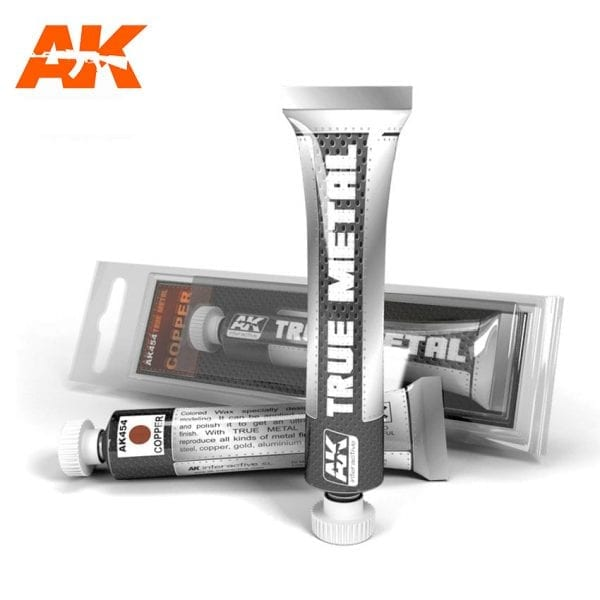AK454 true metal paint akinteractive modeling