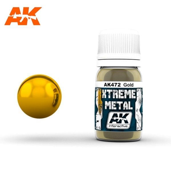 AK472 xtreme metal paints akinteractive