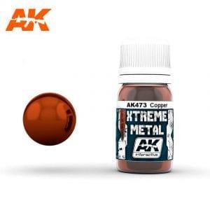 AK473 xtreme metal paints akinteractive