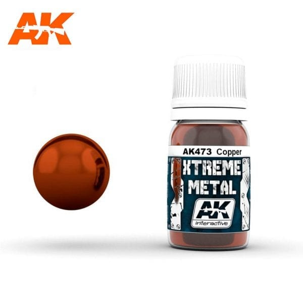 AK473 xtreme metal paints akinteractive