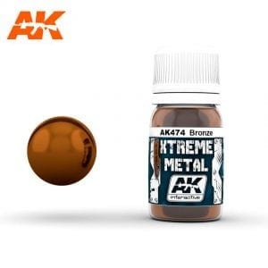 AK474 xtreme metal paints akinteractive