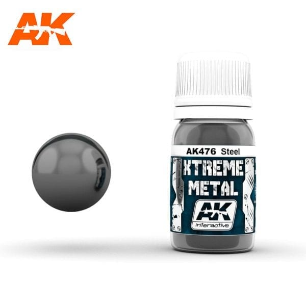 AK476 xtreme metal paints akinteractive