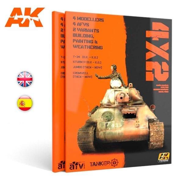 AK480 modeling paint akinteractive