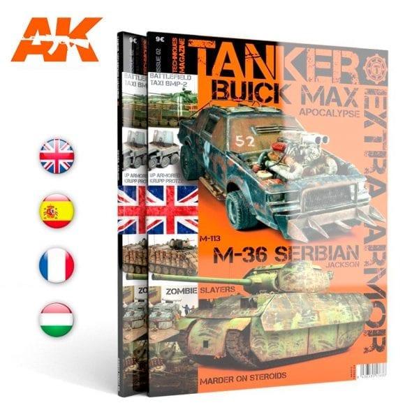 AK4812 tanker magazine akinteractive