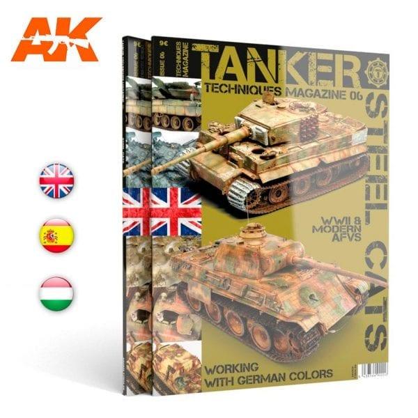 AK4826 tanker magazine akinteractive