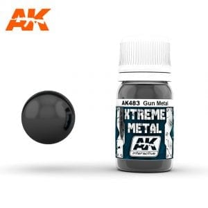 AK483 xtreme metal paints akinteractive