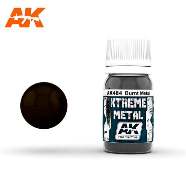 AK484 xtreme metal paints akinteractive