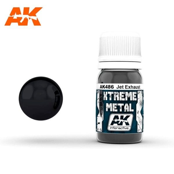 AK486 xtreme metal paints akinteractive