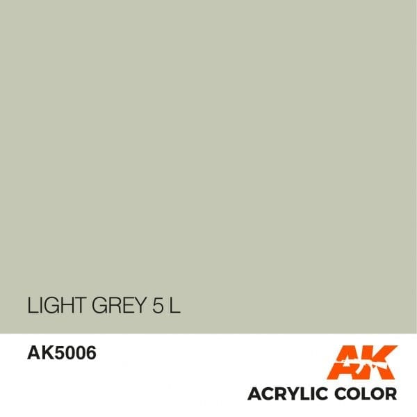 AK5006 LIGHT GREY 5 L
