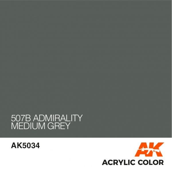 AK5034 507B ADMIRALITY MEDIUM GREY
