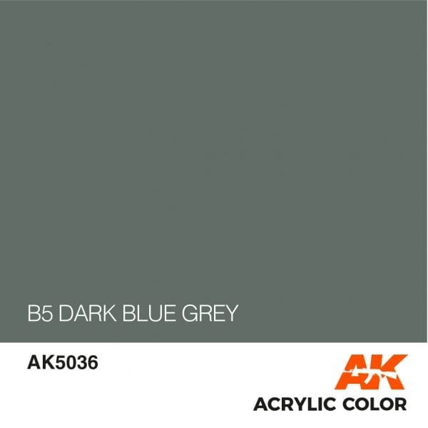 AK5036 B5 DARK BLUE GREY