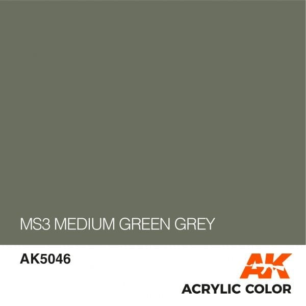 AK5046 MS3 MEDIUM GREEN GREY
