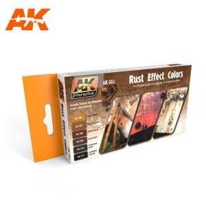 AK551 acrylic paint set akinteractive modeling