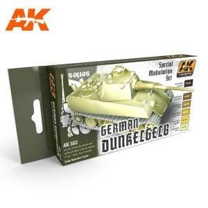 AK552 acrylic paint set akinteractive modeling