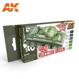 AK553 acrylic paint set akinteractive modeling