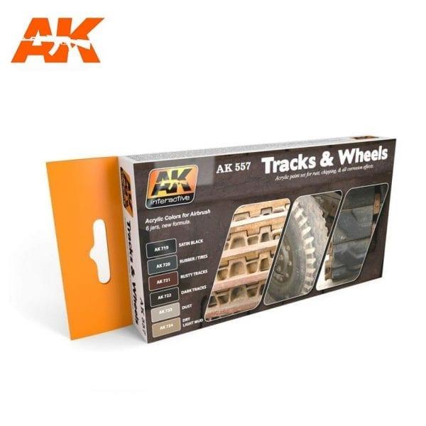 AK557 acrylic paint set akinteractive modeling