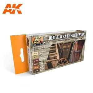AK562 acrylic paint set akinteractive modeling