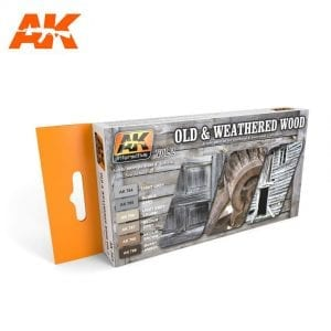 AK563 acrylic paint set akinteractive modeling