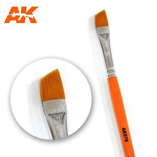AK578 synthetic brush akinteractive