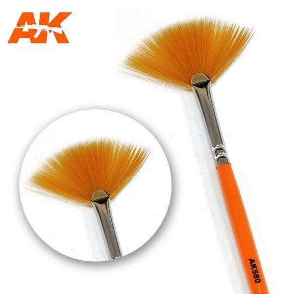 AK580 synthetic brush akinteractive
