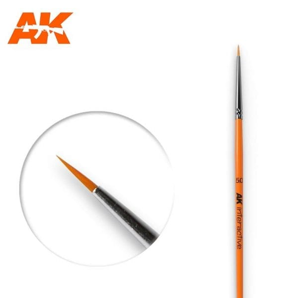 AK600 synthetic brush akinteractive