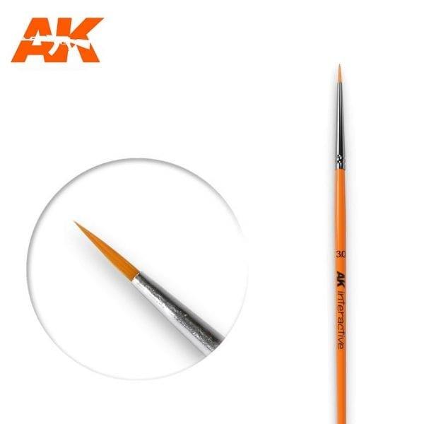AK601 synthetic brush akinteractive