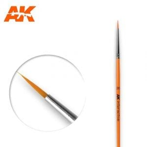 AK602 synthetic brush akinteractive