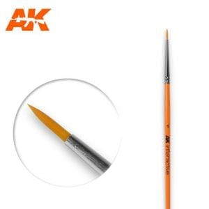 AK603 synthetic brush akinteractive