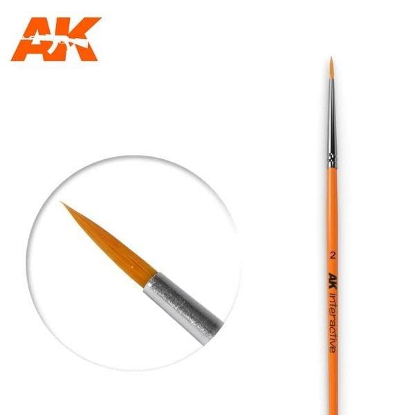 AK604 synthetic brush akinteractive