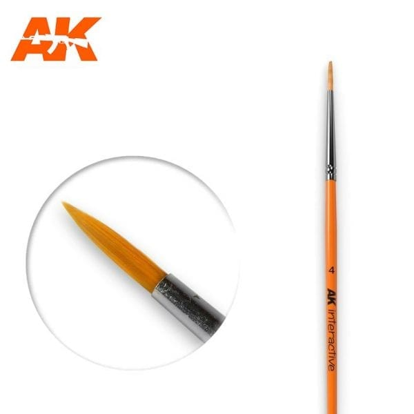 AK605 synthetic brush akinteractive