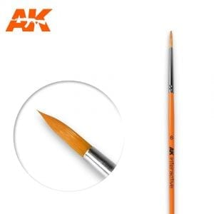 AK606 synthetic brush akinteractive