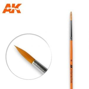 AK607 synthetic brush akinteractive