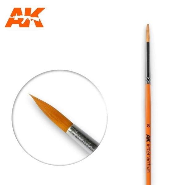 AK607 synthetic brush akinteractive