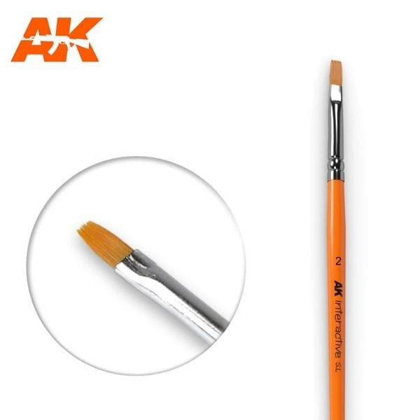 AK609 synthetic brush akinteractive