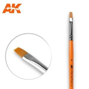 AK610 synthetic brush akinteractive