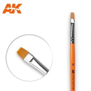 AK611 synthetic brush akinteractive