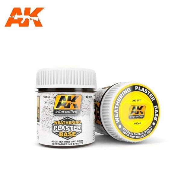 AK617 weathering plaster akinteractive