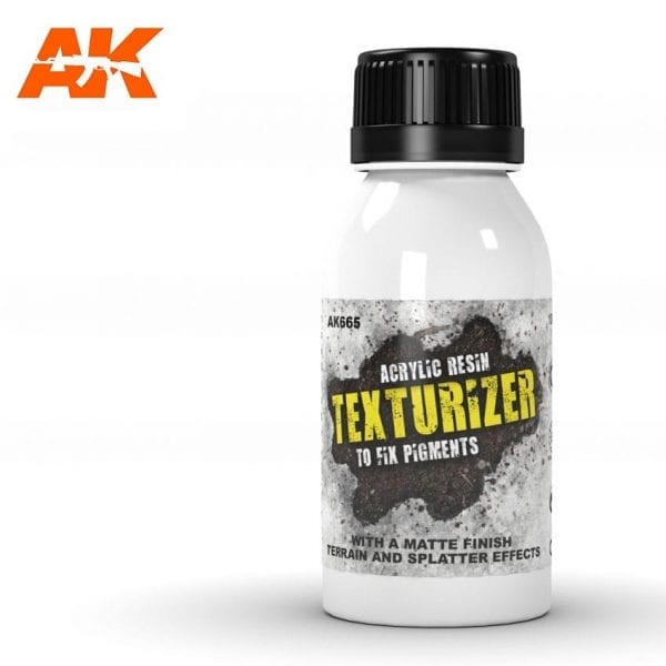 AK665 acrylic resin texturizer akinteractive