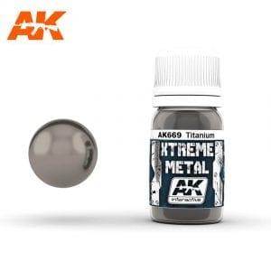 AK669 xtreme metal paints akinteractive