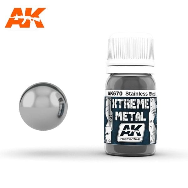 AK670 xtreme metal paints akinteractive