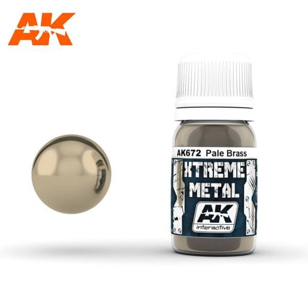 AK672 xtreme metal paints akinteractive