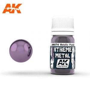 AK674 xtreme metal paints akinteractive