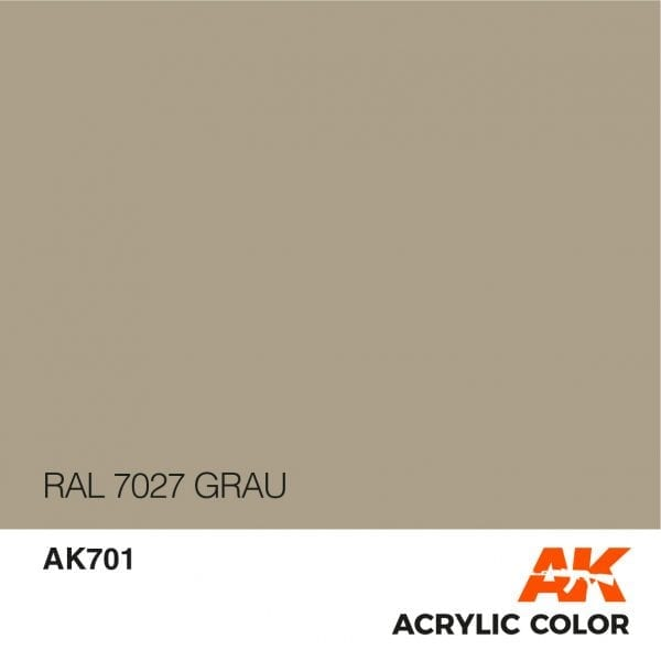 AK701 RAL 7027 GRAU