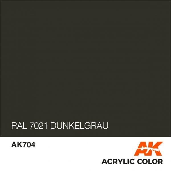 AK704 RAL 7021 DUNKELGRAU