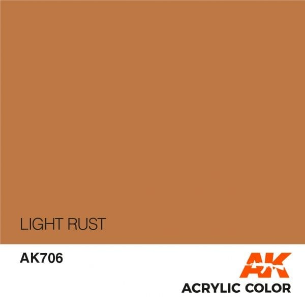 AK706 LIGHT RUST