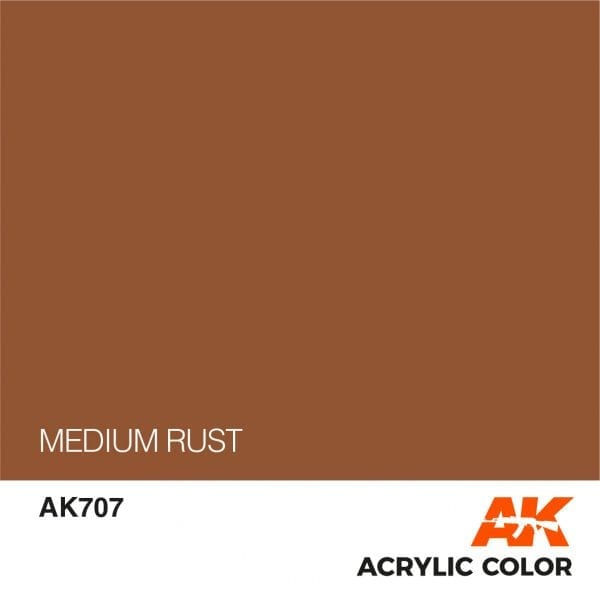 AK707 MEDIUM RUST